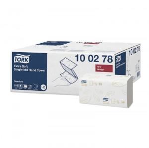 Tork Extra Soft Singlefold Hand Towel Premium 2-Ply - 100278