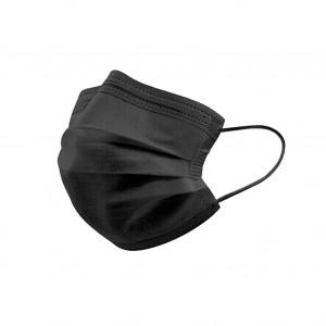 Type IIR Surgical Face Masks - Black (Box of 50 Masks)