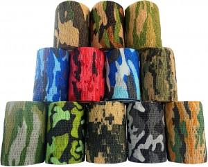 Cohesive Grip Wrap Camouflage (5cm x 4m)