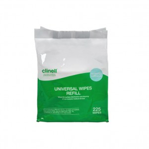 Clinell Universal Disinfectant Wipes x 225 - Refill