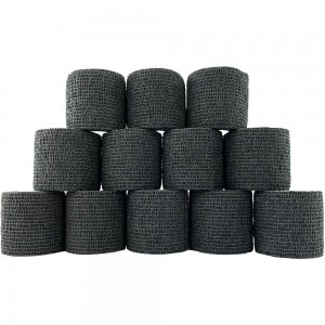 Cohesive Grip Wrap Black (5cm x 4m)