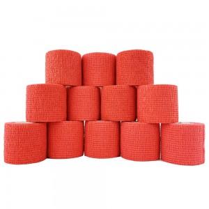 Cohesive Grip Wrap Red (5cm x 4m)