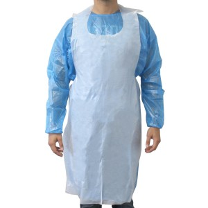 Disposable Aprons - White - 100