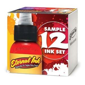 Eternal Ink Primary Colour Sample Set - 1oz