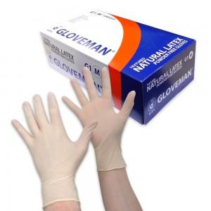 Textured Latex Powder Free Gloves Box 100