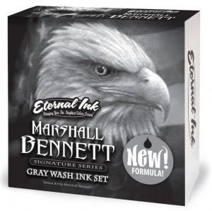 Eternal Ink Marshall Bennett Gray Wash Set - 1oz/30ml