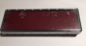 Replacement Red Ink Pad for Self Inking Sterilisation Stamp