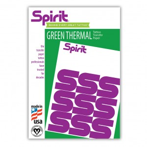 """ReproFX Spirit - Green Thermal Copier Hectograph Paper - 8.5"""" x 11"""""""