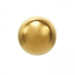 Studex System 75 Sterile Earrings Plain 24 Ct Gold Plated 4mm Ball - (Pair)